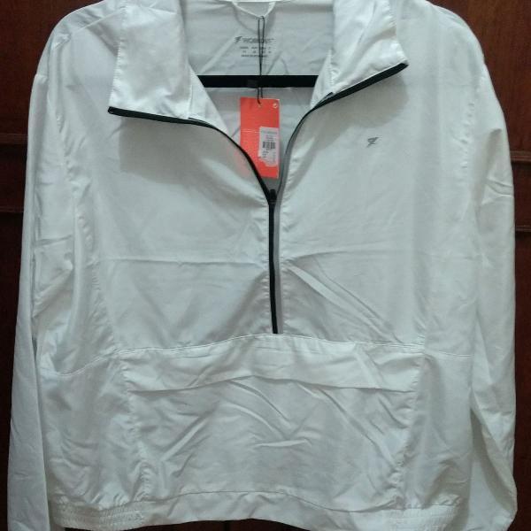 Blusa manga comprida branca