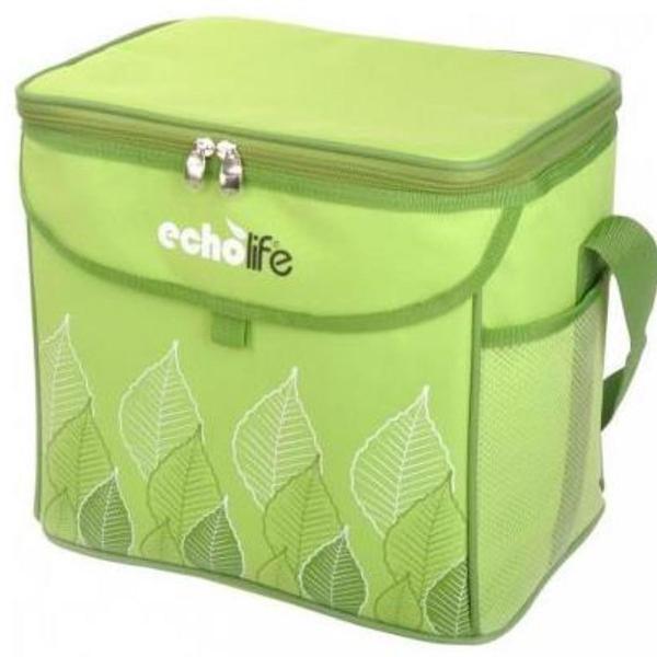 Bolsa térmica echolife green com alça ajustável - 9litros