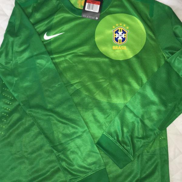 Camisa brasil nova manga longa