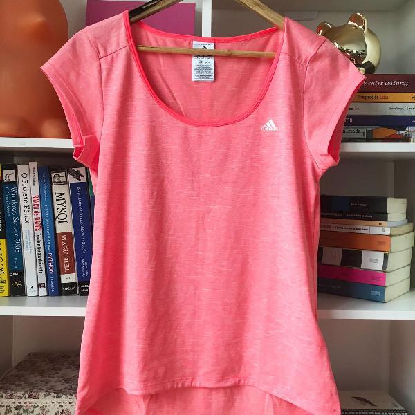 Camiseta academia adidas rosa neon