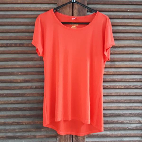 Camiseta dry fit coral tam m