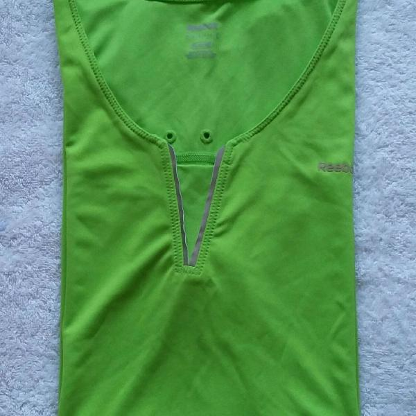Camiseta esportiva, xl, reebok/play dry (original)