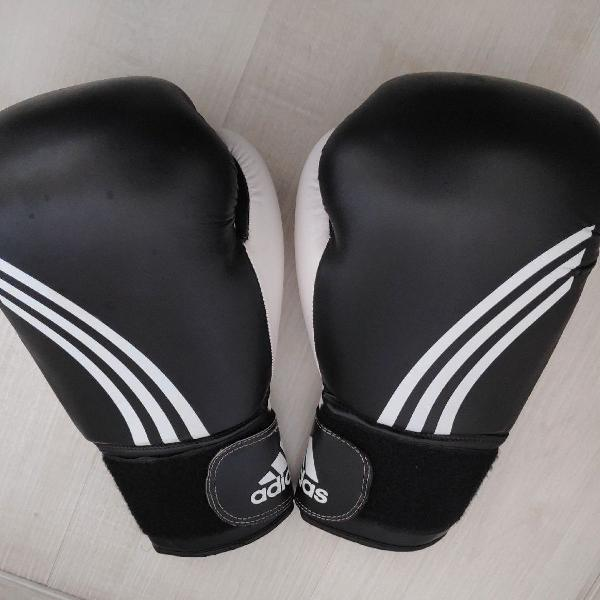 Luva adidas 12 oz muay thai boxe