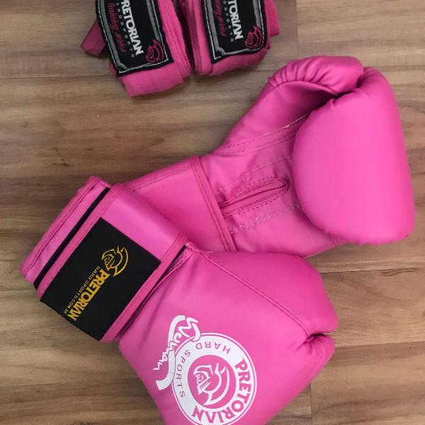 Luva boxe rose pretorian 10 oz