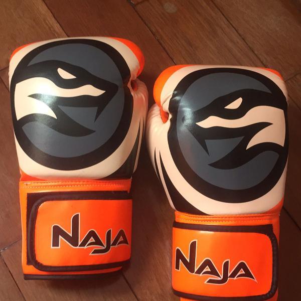 Luva naja muay thai/boxe