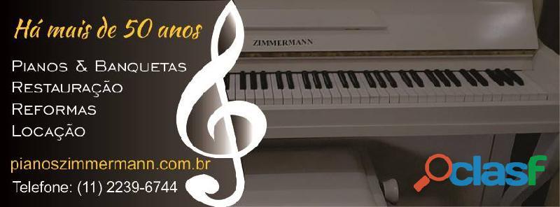 PIANOS ZIMMERMANN, VENDA, 1