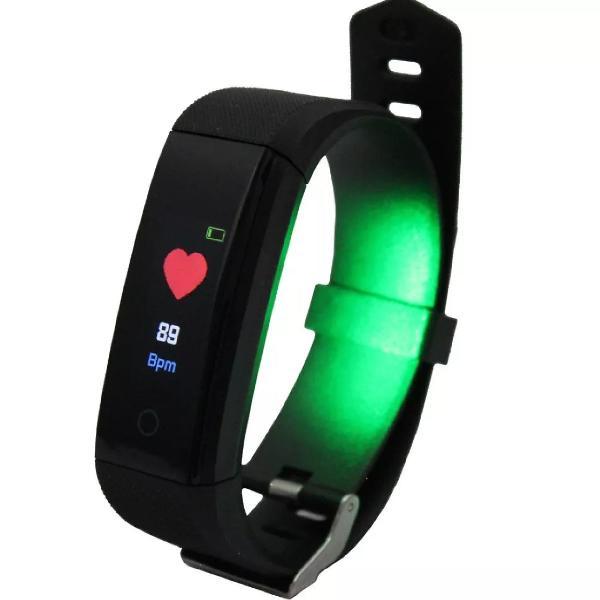 Pulseira de corrida e monitor cardíaco