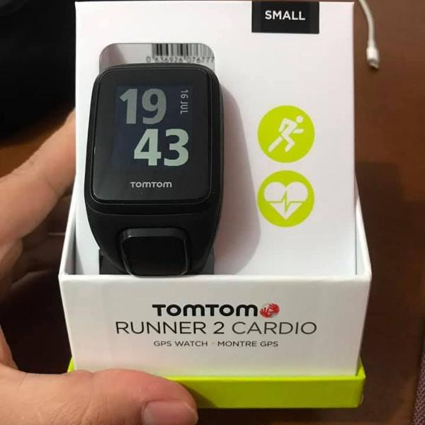 Relógio tomtom runner 2 cardio