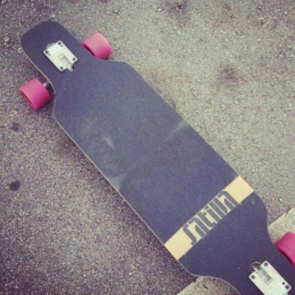 Skate longboard sativa