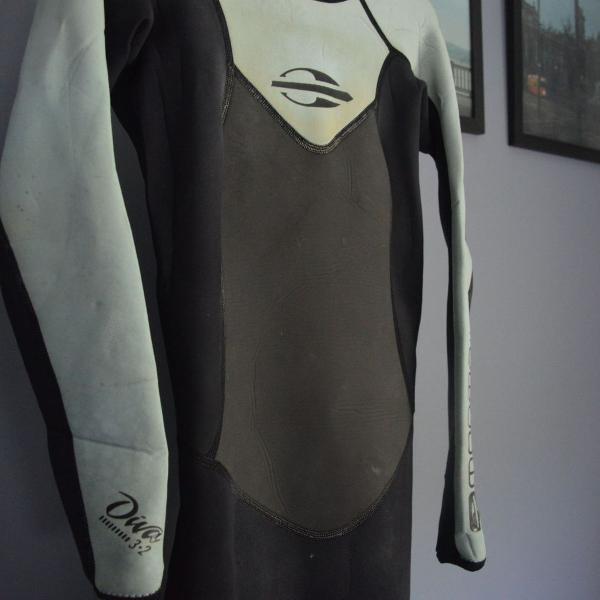 Wetsuit feminino long john