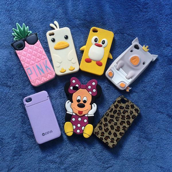 7 capinhas iphone 4/4s