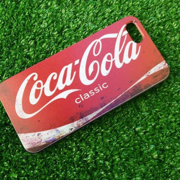 Capa iphone 5s coca cola