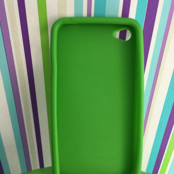 Capinha básica silicone - verde