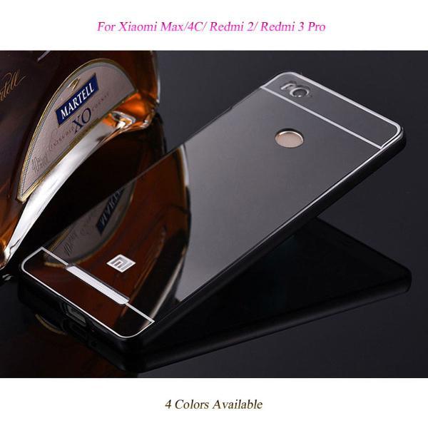 Case capa bumper espelhada luxo xiaomi redmi 2 e redmi 3 pro