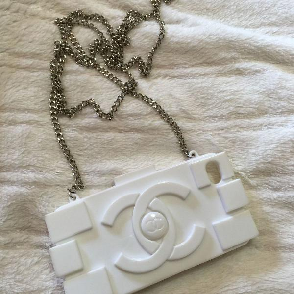 Case chanel para iphone 4/4s