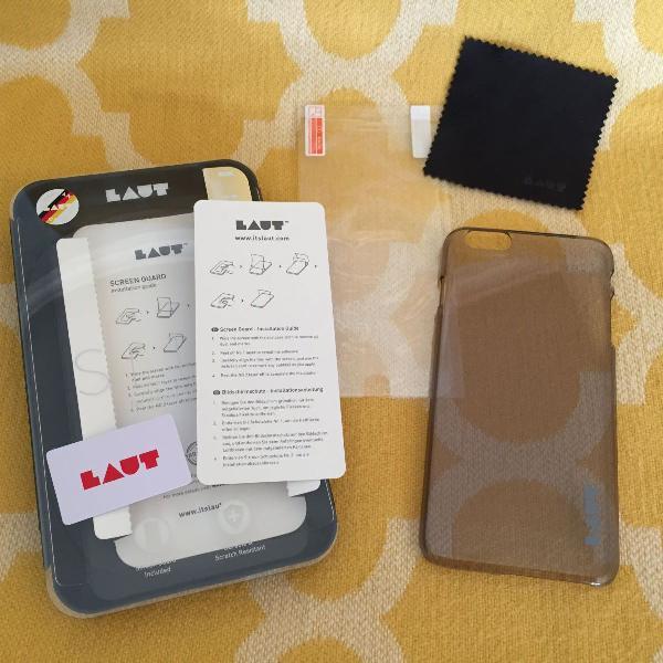 Iphone 6 plus - capa e película - laut/alemanha