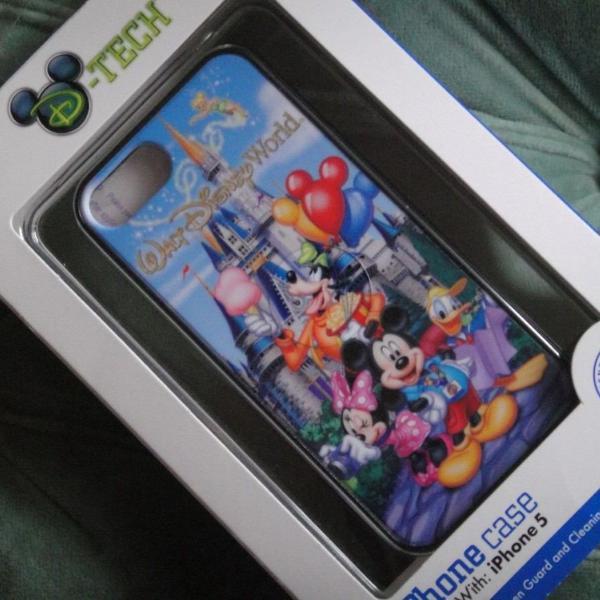 Iphone 5, 5s e se capa mickey exclusividade park disney