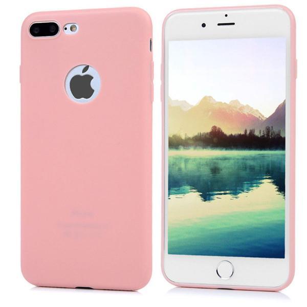 Iphone 7 plus capa capinha protetora para flexível