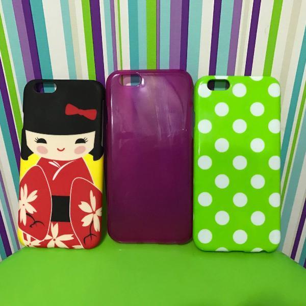 Kit capinhas - iphone 6/6s