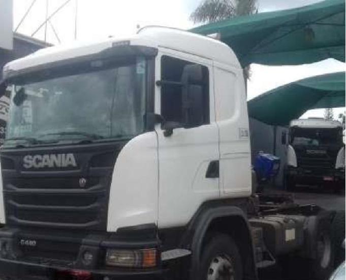 Scania g 440 6x4 cavalo tracado canavieiro 2015