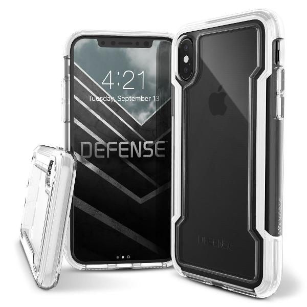 Capa anti impacto iphone x e xs x-doria defense clear