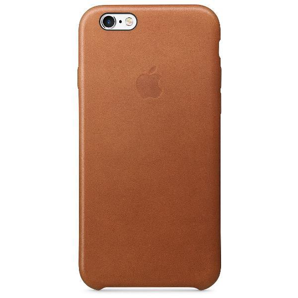 Capa de couro original para iphone 6 e 6s rosé