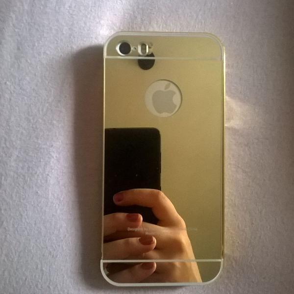Capa espelhada iphone 5s