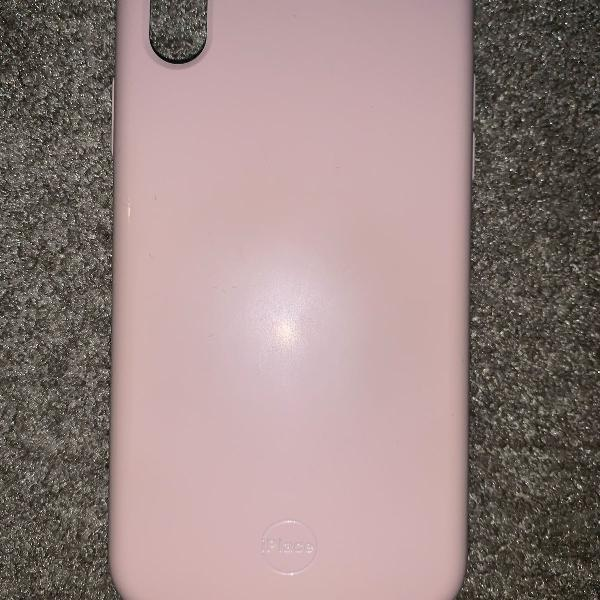 Capa iphone xr rosa