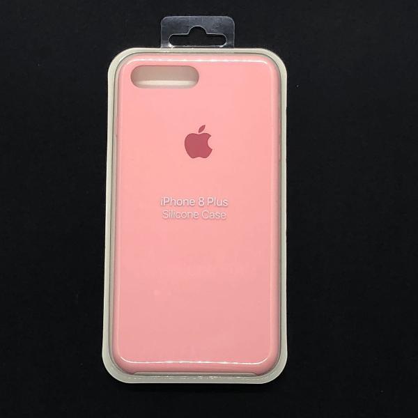 Capa para iphone 7/8 plus - rosa bebê