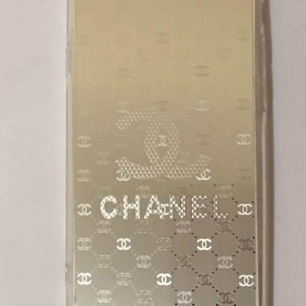 Capa proteção channel iphone 6 e 6s prata