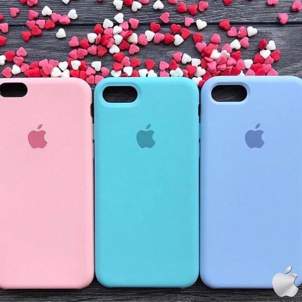 Capinha celular silicone original iphone 7 e 8 todas as