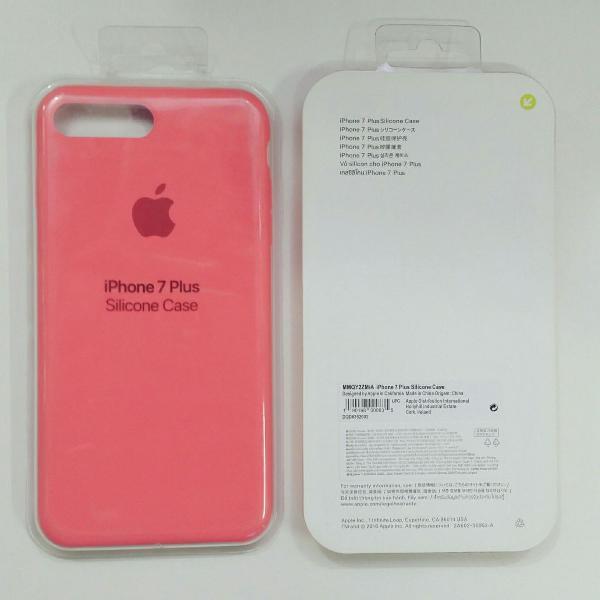 Capinha de celular apple iphone 7 plus e 8 plus cor laranja