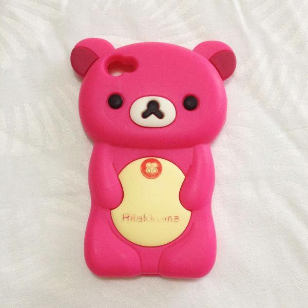 Capinha iphone 4/4s rosa