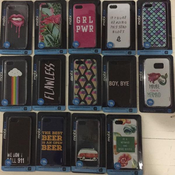 Capinha silicone iphone 7