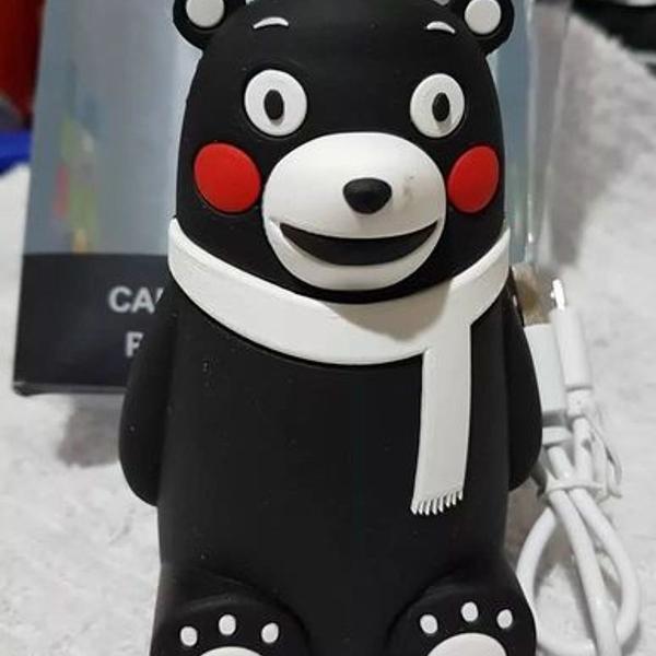 Carregador portátil power supply emoji panda