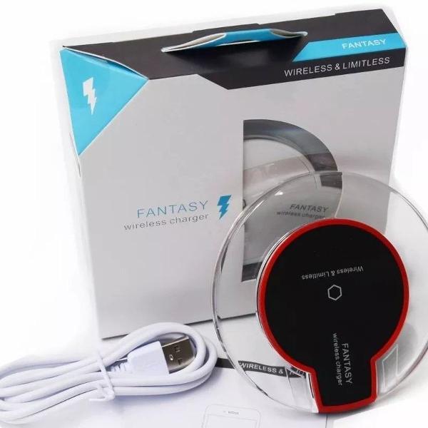 carregador wireless sem fio samsung motorola lg