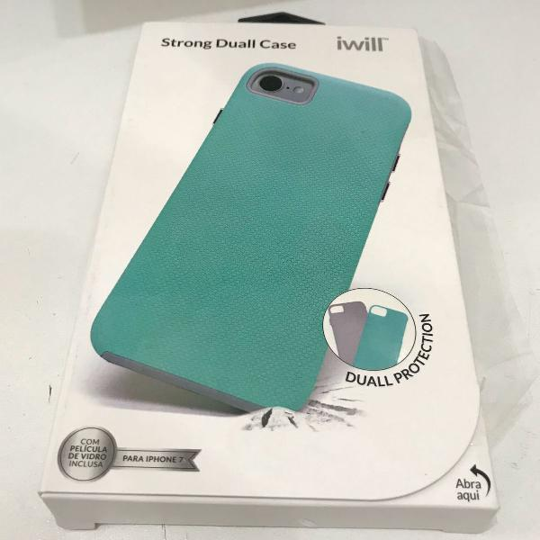 Case anti impacto + película iphone 7 / 8 - iwill