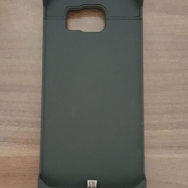 Case bateria externa celular galaxy s6 4200mah power bank