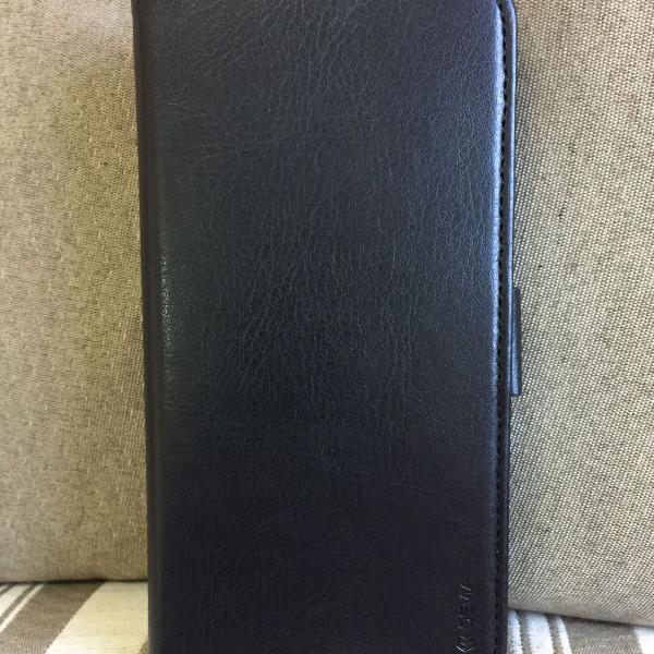 Case capa couro iphone 6 plus