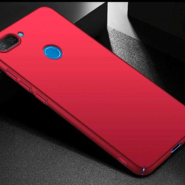Case capa xiomi mi8lite red