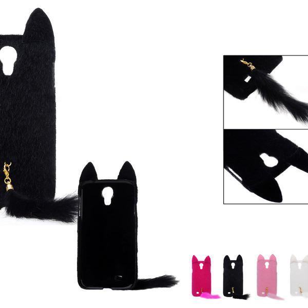 Case capinha para celular gatinho preto nova