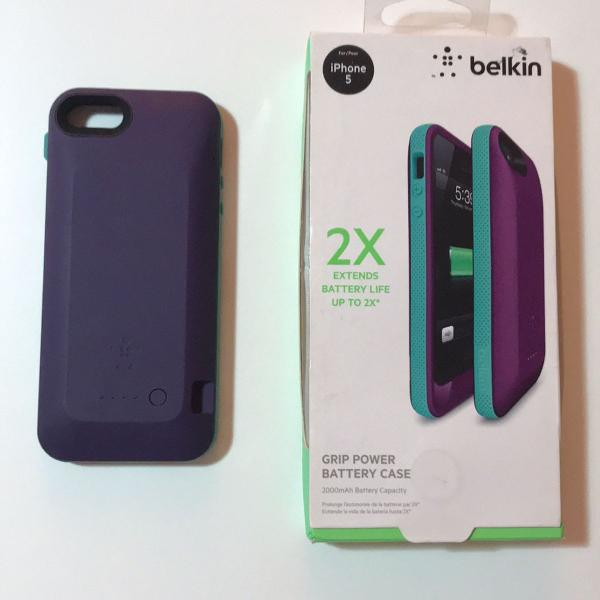 Case carregadora belkin iphone 5/5s/6se