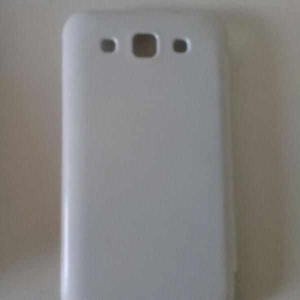 Case celular branco flip
