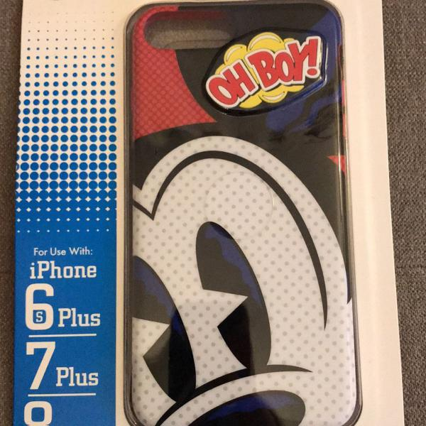 Case celular disney mickey iphone 6,7,8 plus