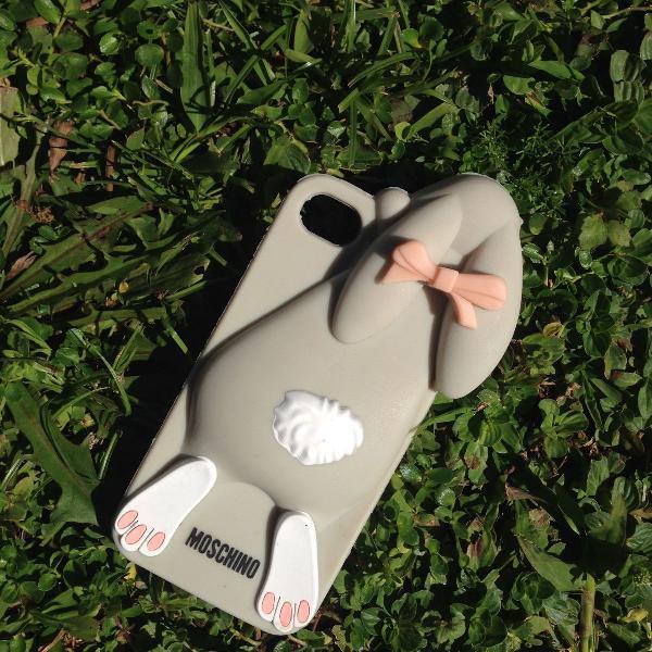 Case coelho moschino iphone 5 e 5s