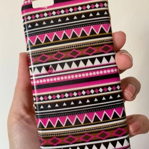 Case feminina iphone 6/6s estampa étnica