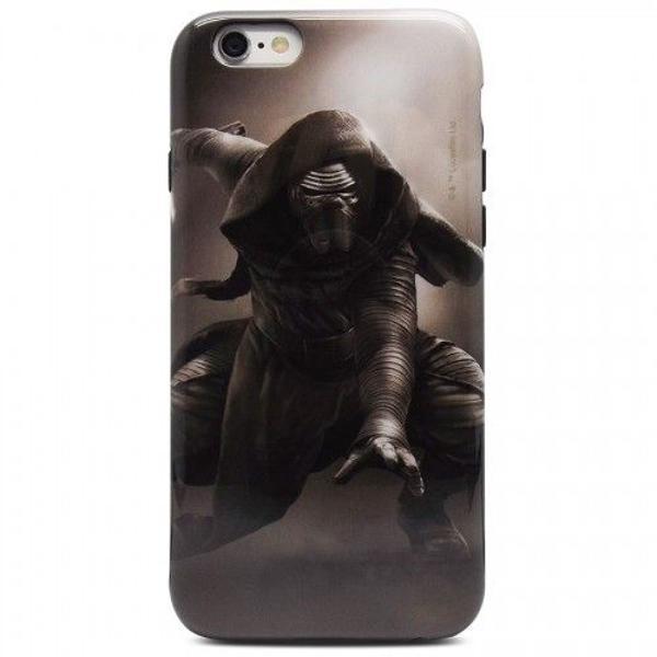 Case iphone 6s mod. star wars kylo ren & película vidro