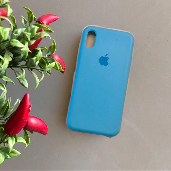 Case iphone x e xs - silicone