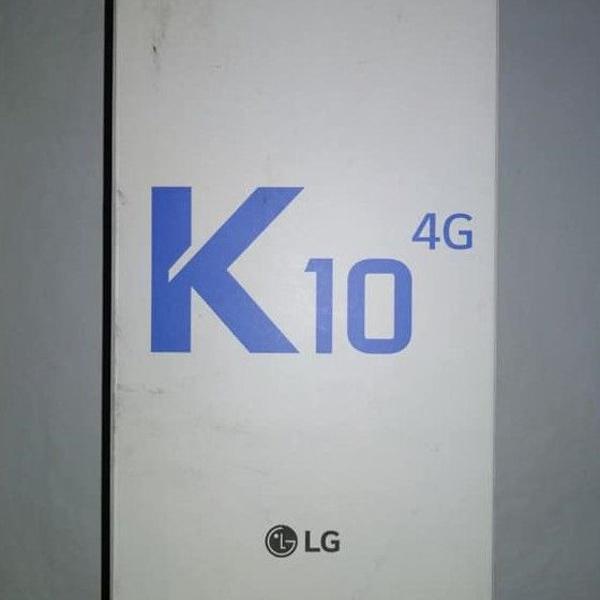 Celular lg k10 2016 índigo
