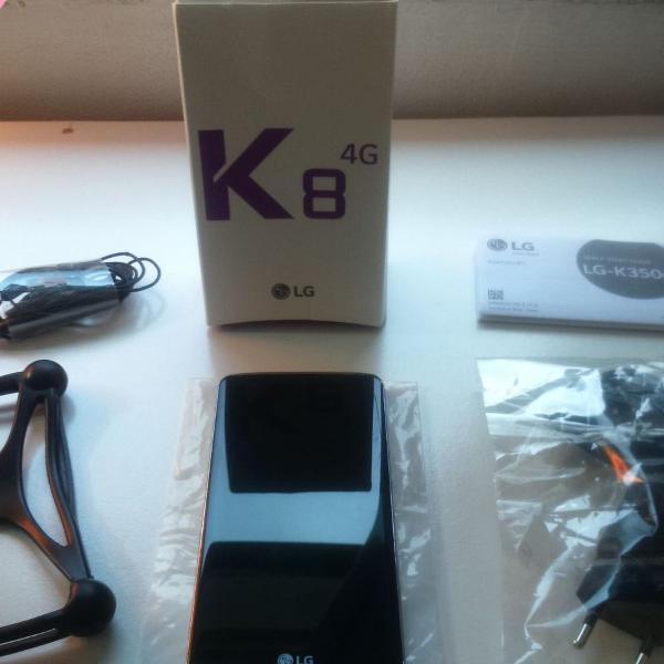 Celular lg k8 versão dourado
